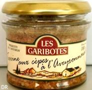 Terrine aux cèpes à l'Aveyronnaise
