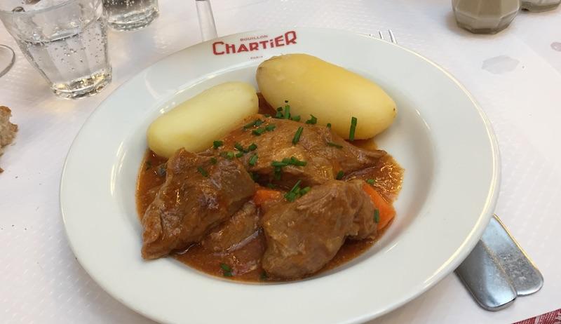Sauté de veau Marengo (11,20€)