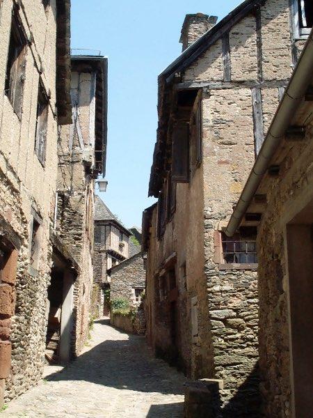 Une rue de Conques
